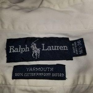 Ralph Lauren dress button down shirt